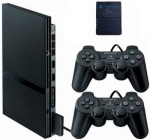 Sony PlayStation 2 Slim + Controller (дополнительный джойстик ) + Memory Card 8M (карточка памяти 8 мегабайт) -